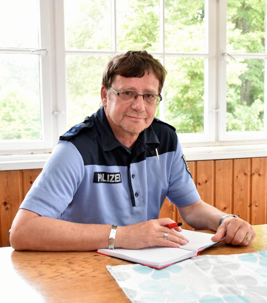 Bürgerpolizist Polizeihauptmeister Andreas Böhme